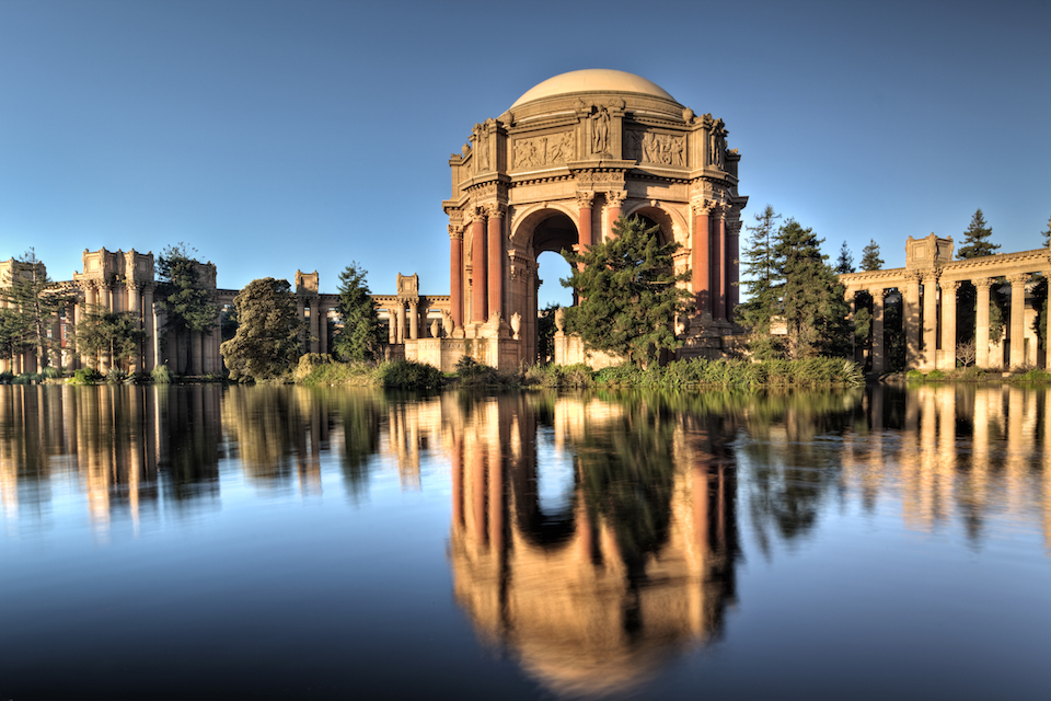 The Palace of Fine Arts - Location of Palace Games